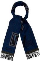 Louis Vuitton Stickers Wool Muffler