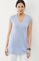 J. Jill Pure Jill Cap-Sleeve Sweater Tunic