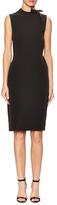 Ava & Aiden Tie Neck Sheath Dress