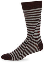 Calvin Klein Striped Dress Socks