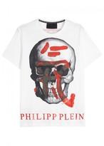 Philipp Plein Kois Skull-print Cotton T-shirt