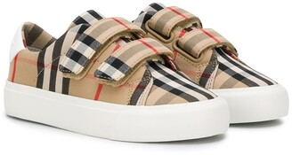 BURBERRY KIDS House Check sneakers