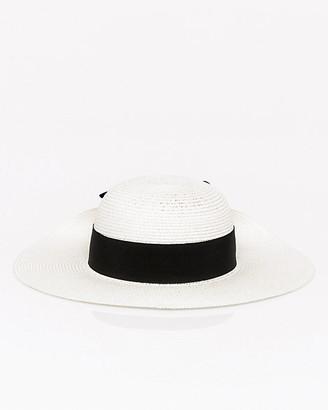 Le Château Woven Floppy Hat
