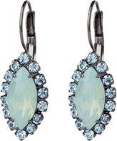 Elizabeth Cole Navette Drop Earring, Light Blue 1 Pair