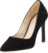 Pelle Moda Duran Suede Pointed-Toe Pump