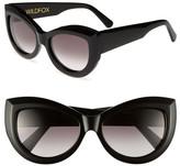 Wildfox Couture Women's Kitten Cat Eye Acetate Frame Sunglasses