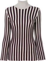 L'Autre Chose striped turtleneck top