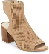 Kenneth Cole New York Charlo Perforated Leather Ankle Boots