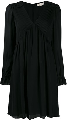 MICHAEL Michael Kors V-neck short dress