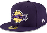 New Era Los Angeles Lakers Solid Team 59FIFTY Cap
