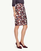 Ann Taylor Vine Pencil Skirt