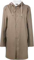 Stutterheim 'Goteborg' coat - women - Cotton/Polyester/PVC - XS