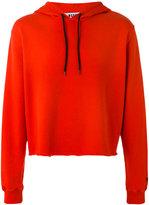 MSGM plain hoodie