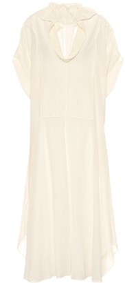 Jil Sander Cotton and silk dress