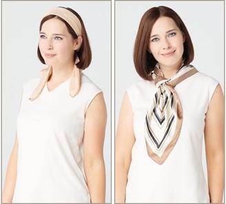 Headbands of Hope Set of 2 Multi-Wear Headscarves