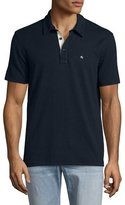 Rag & Bone Standard Issue Polo Shirt, Navy