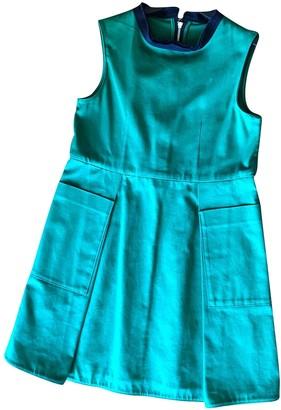 Marni Green Cotton Dresses