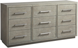 One Kings Lane Zephyr Dresser - Graywash - frame, graywash; hardware, silver