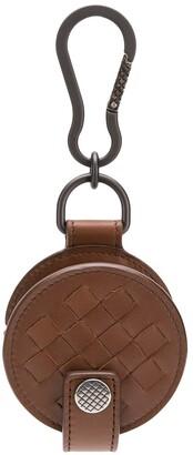 Bottega Veneta Intrecciato Weave Headphone Case