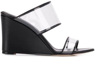 Paris Texas Clear Strap Sandals