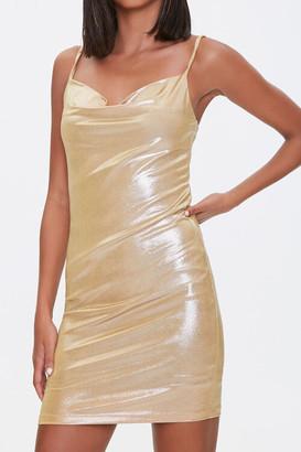 Forever 21 Cowl Neck Mini Dress