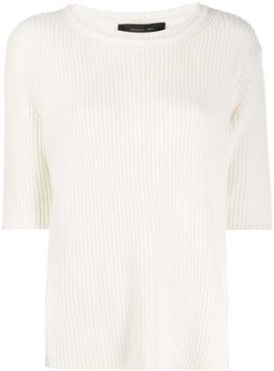 FEDERICA TOSI short-sleeve fitted top
