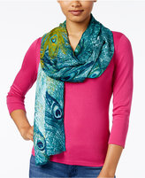 INC International Concepts Peacock Pashmina Wrap, Only at Macy's