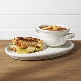 Crate & Barrel Farmhouse Soup and Sandwich, Set of 2