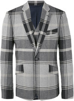 Vivienne Westwood notched lapel plaid blazer - men - Cotton/Polyamide/Spandex/Elastane/Viscose - 48
