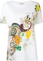 Etro abstract print T-shirt - women - Cotton - 44