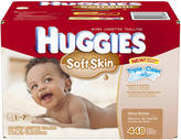 Kimberly Clark Corp. Huggies Soft Skin Baby Wipes - 448CT