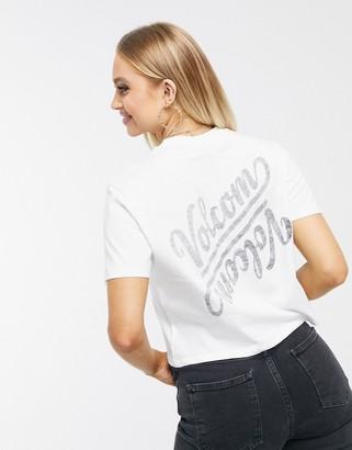 Volcom Pocket dial t shirt in white