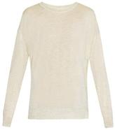 Isabel Marant Berwyn silk and cashmere-knit sweater