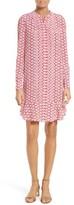 Tory Burch Women's Cora Floral Print Silk Shift Dress