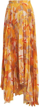 Acler Hooper Pleated Maxi Skirt