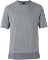 Joseph Silk hem T-shirt - men - Silk/Cotton - S