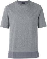 Joseph Silk hem T-shirt