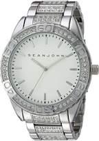 Sean John Men's 10018091 Sport Analog Display Analog Quartz Silver Watch