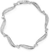 Nadri Pavé Curved Tennis Bracelet