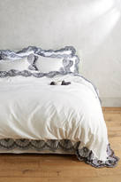 Anthropologie Eyelet Embroidered Duvet