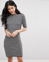 Blend She Marrow Striped Bodycon Dress
