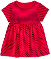 First Impressions Stripes & Dots Babydoll Tunic, Baby Girls (0-24 months), Only at Macy's