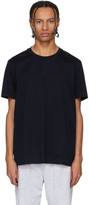 BOSS Navy Fine Waffle Knit T-Shirt