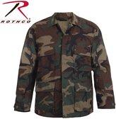 Rothco Camo BDU Shirt, - X Small