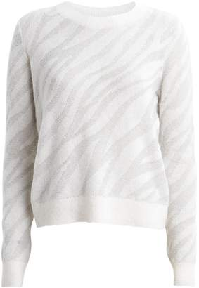 Rag & Bone Germaine Zebra Alpaca-Blend Sweater