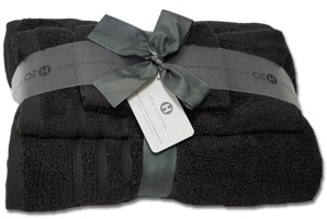 Hotel Collection Ultimate MicroCotton 20th Anniversary 3-Pc. Bath Towel Set, Created for Macy's Bedding