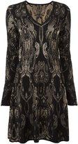 Roberto Cavalli jacquard dress