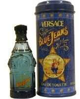 Gianni Versace Blue Jeans Eau de Toilette Spray, 2.5 Fluid Ounce