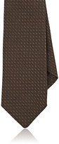 Barneys New York Men's Textured-Silk Necktie-BROWN