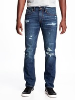 Old Navy Slim Destructed Jeans for Men